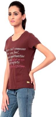 Texco Printed Women,s Round Neck T-Shirt