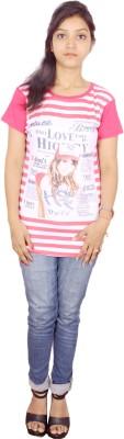 Himgiri Printed Women's Round Neck T-Shirt