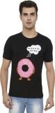 Folkswear Printed Men's Round Neck Black...