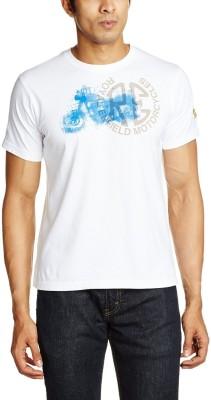 Royal Enfield Printed Boy's Round Neck T-Shirt