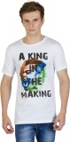Kapapai Printed Men's Round Neck T-Shirt