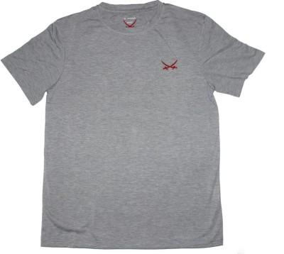 2swords Solid Men,s Round Neck T-Shirt