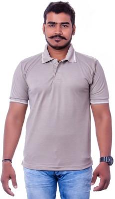 Colours99 Solid Men,s, Boy's Polo Neck T-Shirt