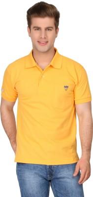urbanlyf Embroidered Men's Polo Neck T-Shirt