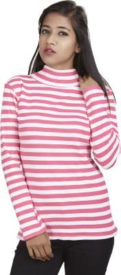 Defossile Striped Women's Halter Neck T-Shirt