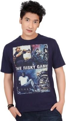 Zootx Printed Men's Round Neck T-Shirt