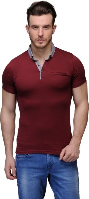 Buckland Solid Men's Polo Maroon T-Shirt