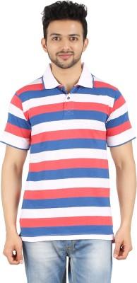 Danteez Striped Men's Polo Multicolor T-Shirt