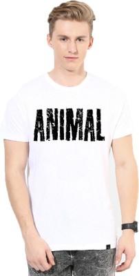 Andshand Graphic Print Men,s, Boy,s Round Neck White T-Shirt