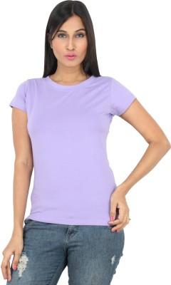 F Fashionstylus Solid Women's Round Neck T-Shirt