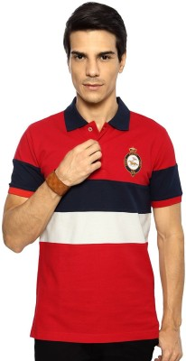 Byford Solid Men's Polo Red T-Shirt