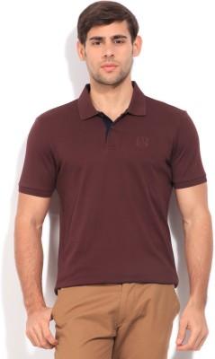 Arrow Sports Men's Maroon T-Shirt
