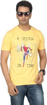 Bandarwalla Graphic Print Men's Round Neck T-Shirt