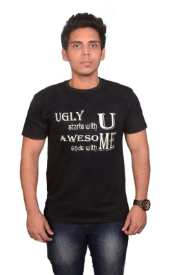 College Jugaad Printed Men's Round Neck T-Shirt