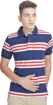 Osspl Printed Men's Polo Neck T-Shirt