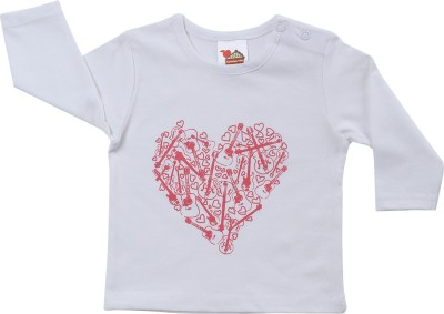 Apple Pie Printed Baby Boy's Round Neck T-Shirt