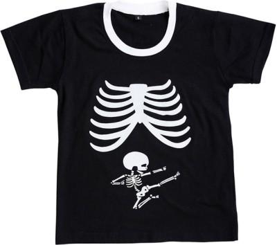 Be 13 Self Design Boy,s Round Neck T-Shirt