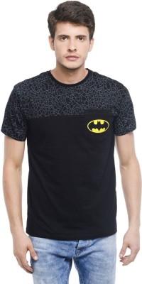 Batman Printed Men,s Round Neck Black T-Shirt