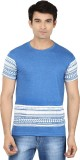 Minute Merge Printed Men's Round Neck Bl...
