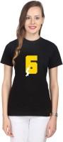 Campus Sutra Printed Women's Round Neck Black T-Shirt best price on Flipkart @ Rs. 475