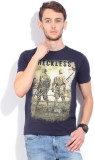 Integriti Printed Men's Round Neck Dark ...