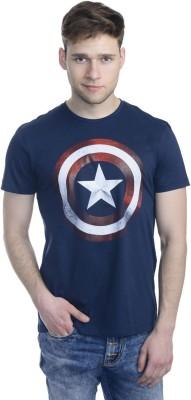 Marvel Comics Printed Men's Round Neck T-Shirt