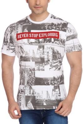 Parx Printed Men's Round Neck T-Shirt