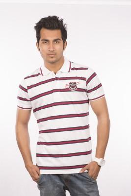 VENETIAN Striped Men's Polo Neck T-Shirt