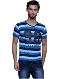 Era of Attitude Printed Men's Round Neck...