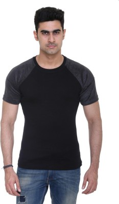 Colors and Blends Solid Men's Round Neck T-Shirt