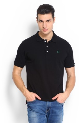 Nord51 Solid Men's Polo Black T-Shirt