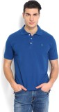 Nord51 Solid Men's Polo Neck Blue T-Shir...