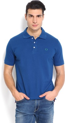 Nord51 Solid Men's Polo Blue T-Shirt