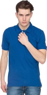 Kanva Solid Men's Polo Neck T-Shirt