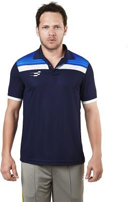 Sportiff Self Design Men's Polo Neck T-Shirt