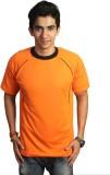 EPG Solid Men's Round Neck Orange T-Shir...