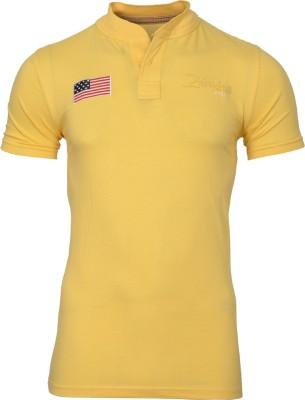 Mangoman Embroidered Men's Polo Neck T-Shirt