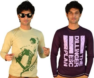 TSG Escape Printed Men,s Round Neck T-Shirt