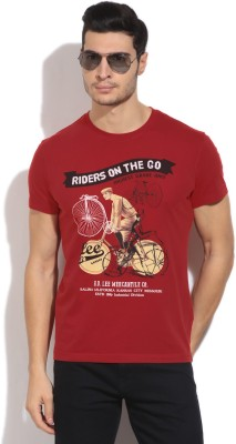 Lee Men's Red T-Shirt
