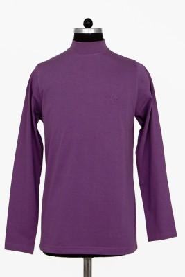 Adobe Solid Men's Round Neck T-Shirt
