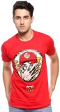 Altitude Printed Men's Round Neck Red T-...