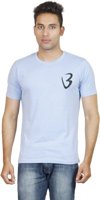 Being Odia Graphic Print Men's Round Neck Blue T-Shirt