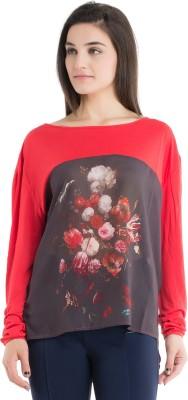 Kazo Printed Women,s Round Neck T-Shirt