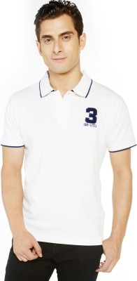 Globus Solid Men's Polo Neck T-Shirt