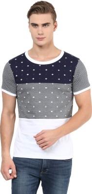 Benoit Printed Men's Round Neck Grey T-Shirt