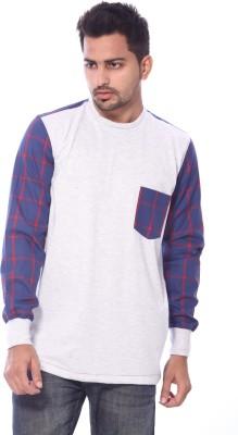 Roger Clothier Solid Men's Round Neck Multicolor T-Shirt