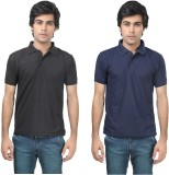 Stylish Trotters Solid Men's Polo Neck B...
