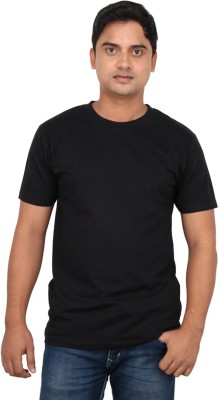 LOOX by Apoorti Solid Men's Round Neck T-Shirt