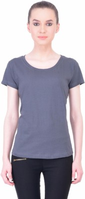 The Dry State Graphic Print Women's Round Neck Grey T-Shirt