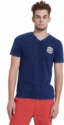 Breakbounce Solid Men's V-neck T-Shirt